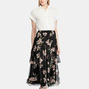 NWT $145 Ralph Lauren Womens 2X Peasant Skirt